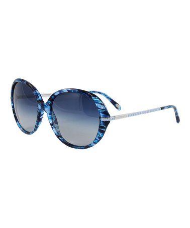 e72a0c28c8 Look what I found on  zulily! Blue Gradient Round Sunglasses  zulilyfinds