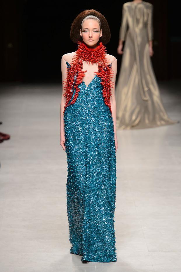 Julien Fournie Spring 2015 Couture