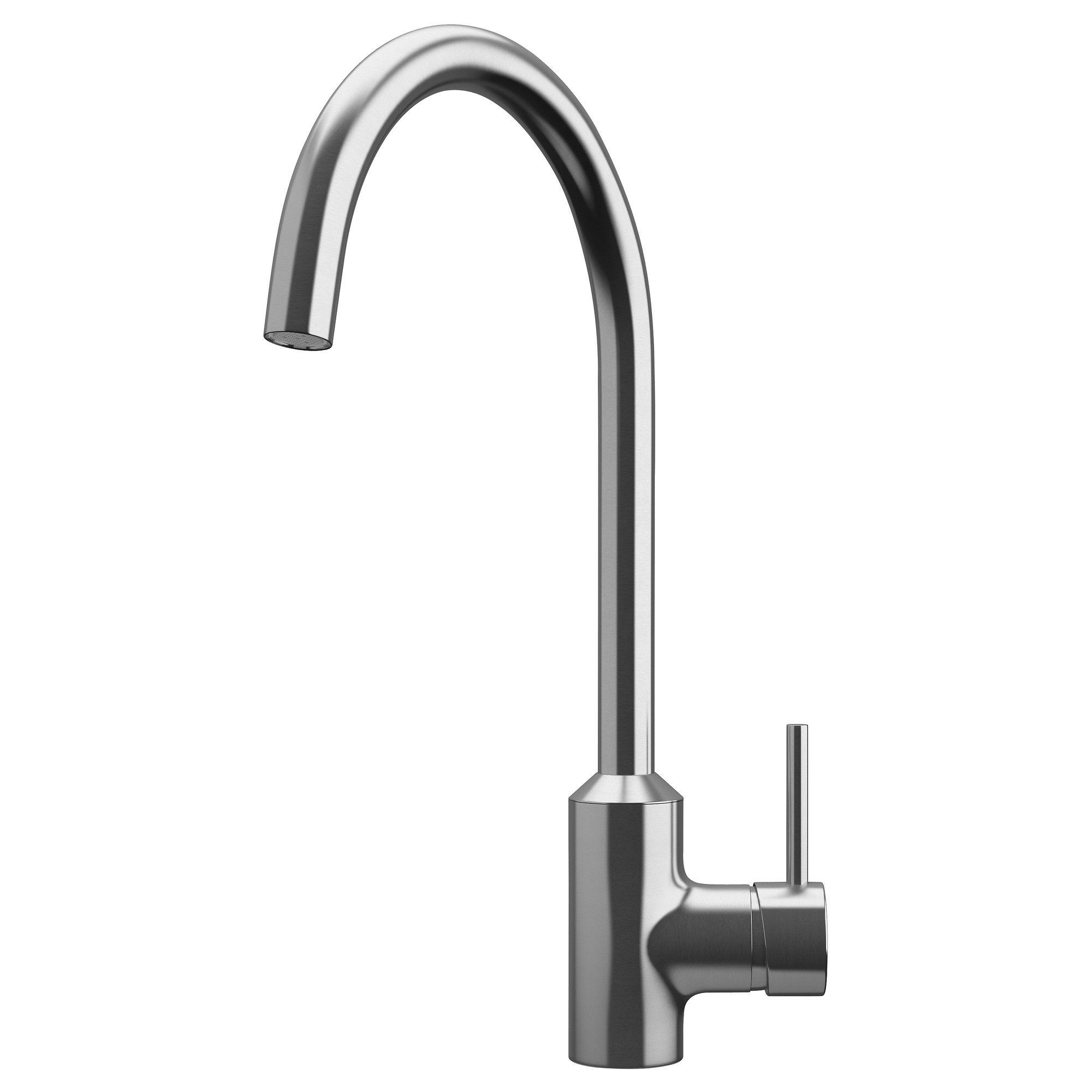RINGSKÄR Einhand Mischbatterie/Küche   Stahlfarben   IKEA