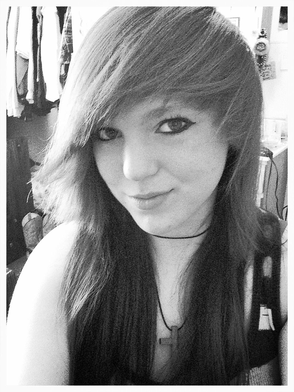 Old photo,new hair(: