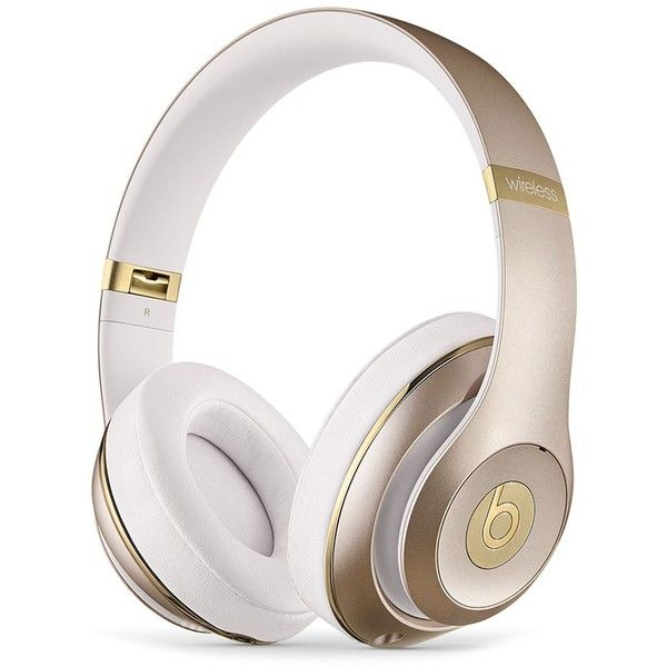 Beats by Dr. Dre Studio Wireless Headphones featuring polyvore women s  fashion clothing headphones gold beats by dr. dre 1cf42b505d