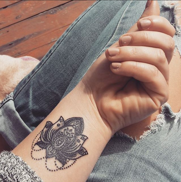 lotus tattoo #ink #Youqueen #girly #tattoos #lotus @youqueen