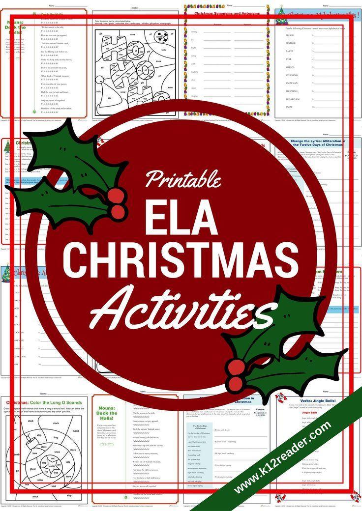 Merry Christmas! Bring some fun into the classroom as you