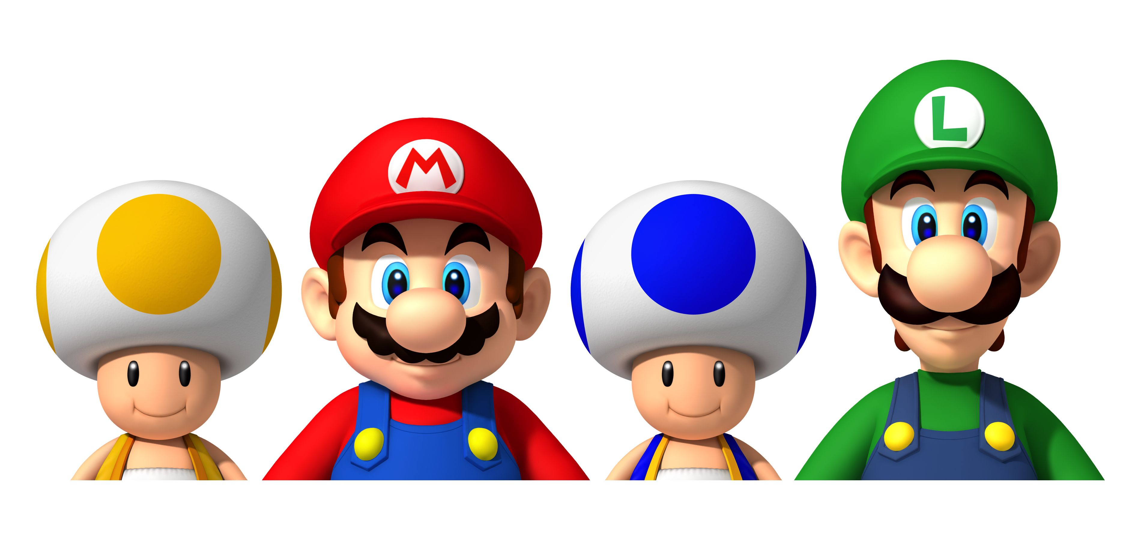 New Super Mario Bros Wii Characters Wallpaper Games Backgrounds