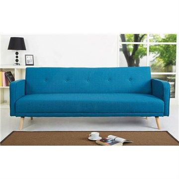 egbert fabric click clack sofa bed blue furniture sofa bed blue rh pinterest co uk