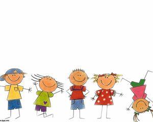 Free Happy Kids Powerpoint Template