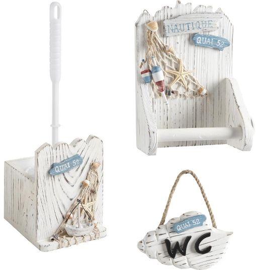 Kit accessoires WC Marina sur | Decoration and Corner