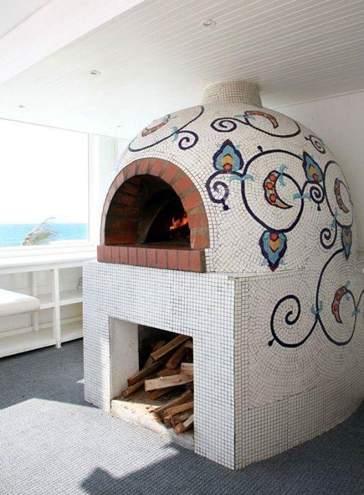 horno de barro casa pinterest four a pizza four pain et cuisini re. Black Bedroom Furniture Sets. Home Design Ideas