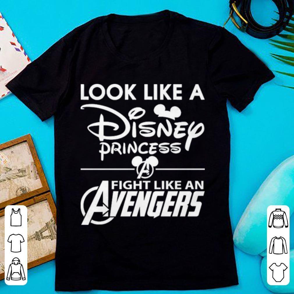 Top Look like a Disney princess fight like an Avengers