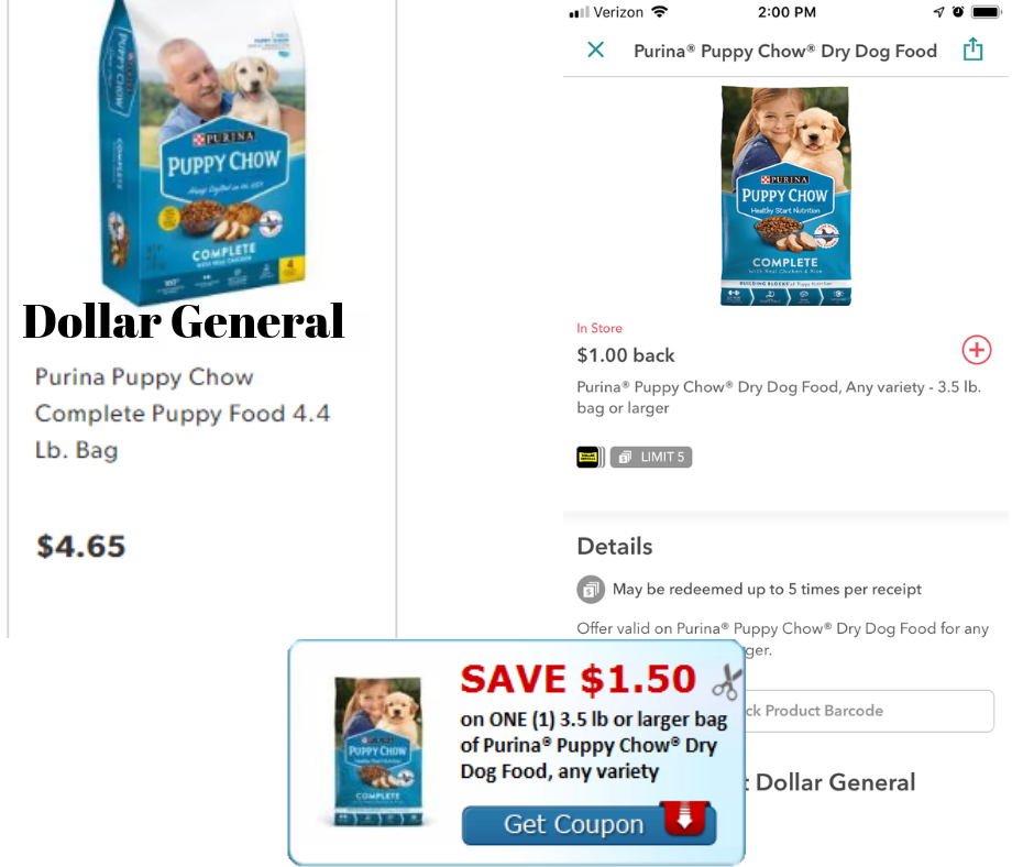 Purina Puppy Chow High Value Printable Ibotta Better Deals At