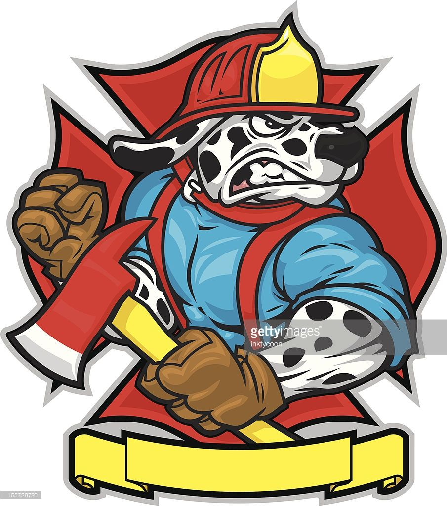 This Firefighter Dalmatian is created separately from the