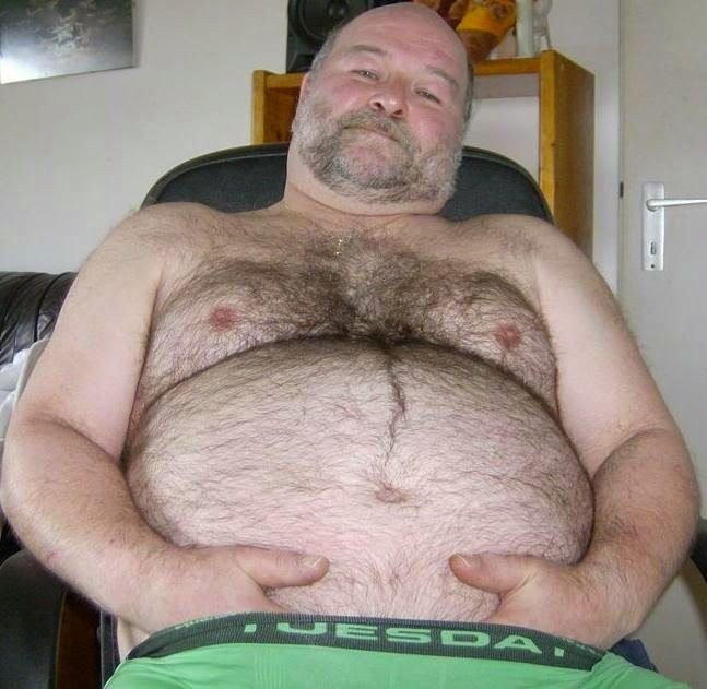 Daddy fat gay