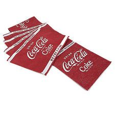 Coca Cola ~ Coke Red U0026 White Tapestry Table Runner U0026 Placemats ...