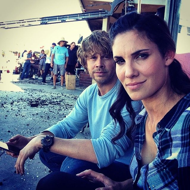 eric christian olsen and daniela ruah ncis los angeles