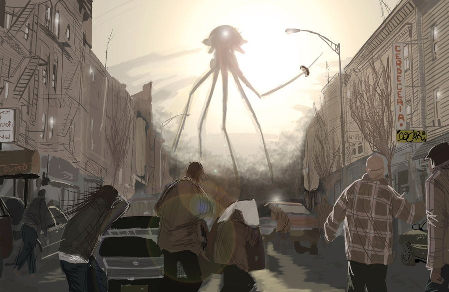 War Of The Worlds has not only been adapted for radio but for comic books, computer games, and films. One of the most recent was Steven Spielberg's War of Worlds starring Tom Cruise.