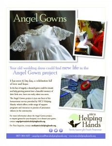 Fort Worth Charity Turning Donated Wedding Dresses Into Angel Gowns For Premature Babies That Pass Away