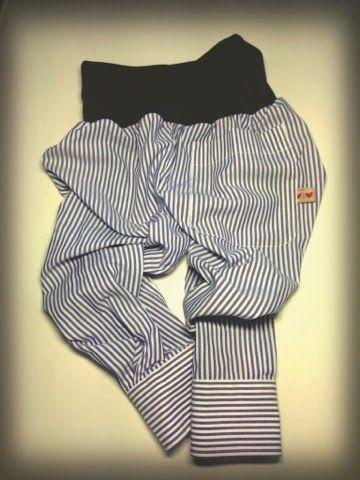 Aus Hemd wird Hose... Upcycling! | Nähen für die Mädels | Pinterest ...