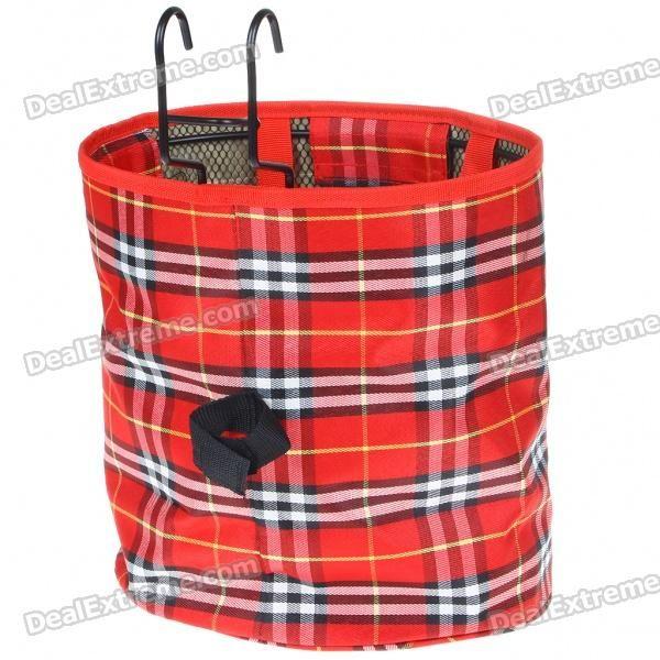 Foldable Handlebar Mount Canvas Basket