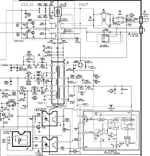 STR - F6654 BASED SMPS POWER SUPPLY SCHEMATIC DIAGRAM ~ Shubham ...