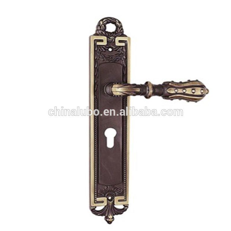 Zinc Alloy Door Handle Lock Extra Big Zinc Handle China Double Handle Exterior Doors Locks Antique  sc 1 st  Pinterest & Zinc Alloy Door Handle Lock Extra Big Zinc Handle China Double ...