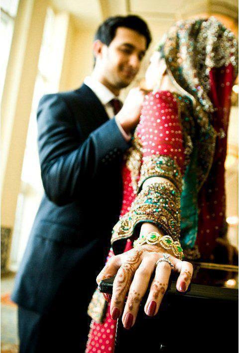 Dulhan Bride Indian Pakistani Wedding Desi Bollywood Dulha Groom