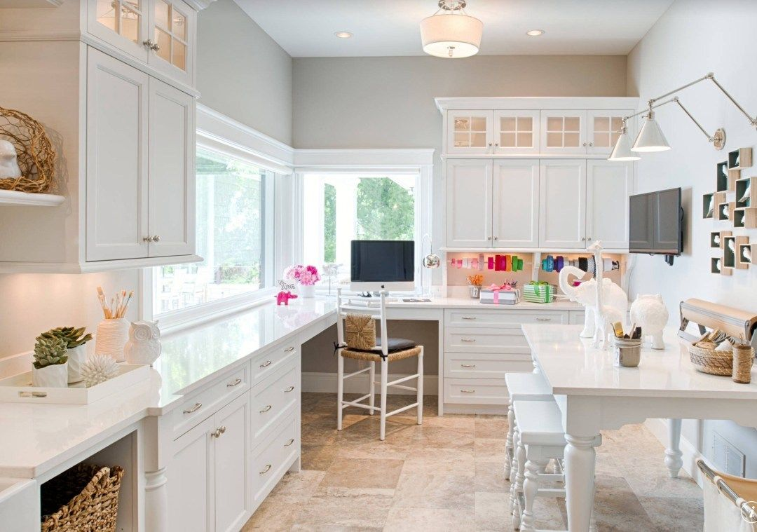 Craft Room Makeover - ORC Week 2 - BEAUTEEFUL Living #craftroommakeovers