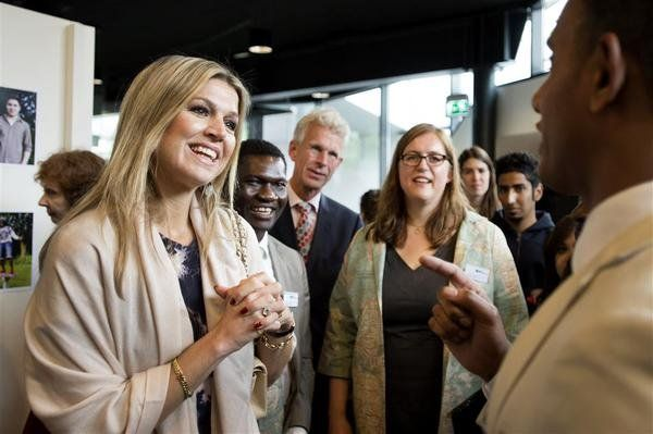 Queen Maxima visits the Refugee Assistance Foundation