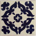 12 Hand Painted Made to Order Talavera Tile Set - Mediterranean - Tile - by Casa Daya Tile and Sink Co.