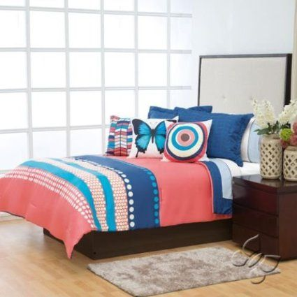 Colombia Reversible Comforter Set (Full/Queen)