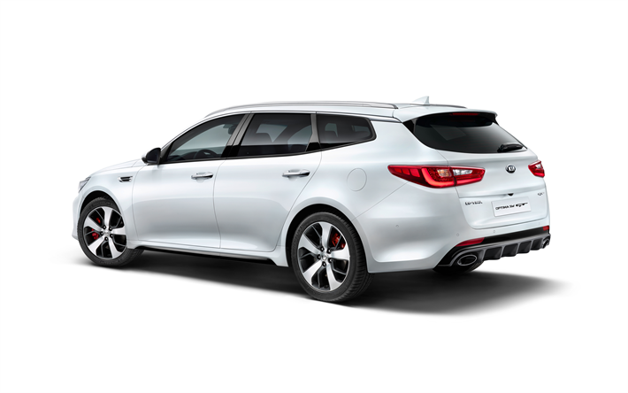 Download Wallpapers Kia Optima Sw Gt 2018 4k Station Wagon White Optima Tuning Kia Korean Cars Kia Besthqwallpapers Com Kia Optima Carrinha Carros Coreanos