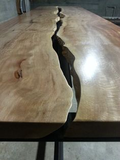 Live Edge Conference Table   Google Search