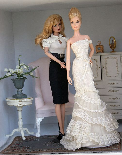 Getting ready for the Wedding diorama | Flickr - Photo Sharing!