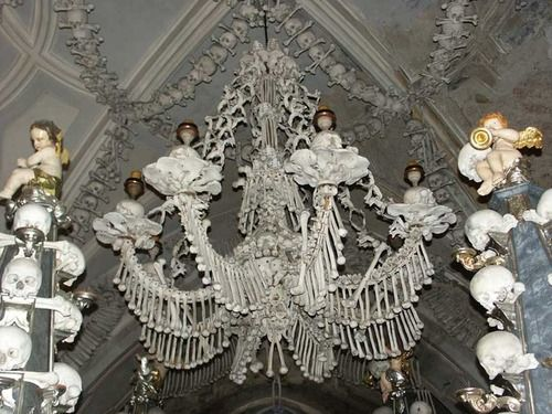 Eyetwitch via heyyoshimi this is the bone chandelier at the awesomespaces aloadofball Image collections