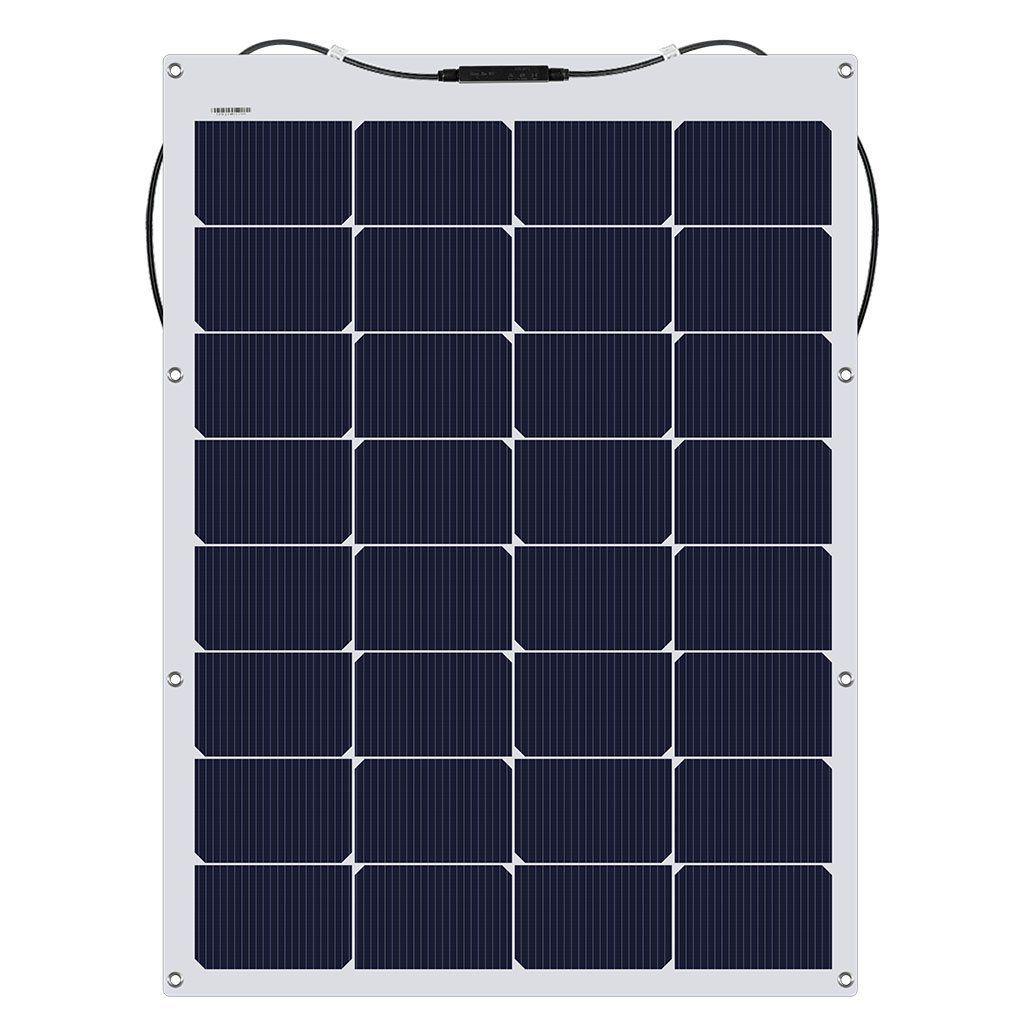 Flexible Solar Panel 100W Flexible solar panels, Solar