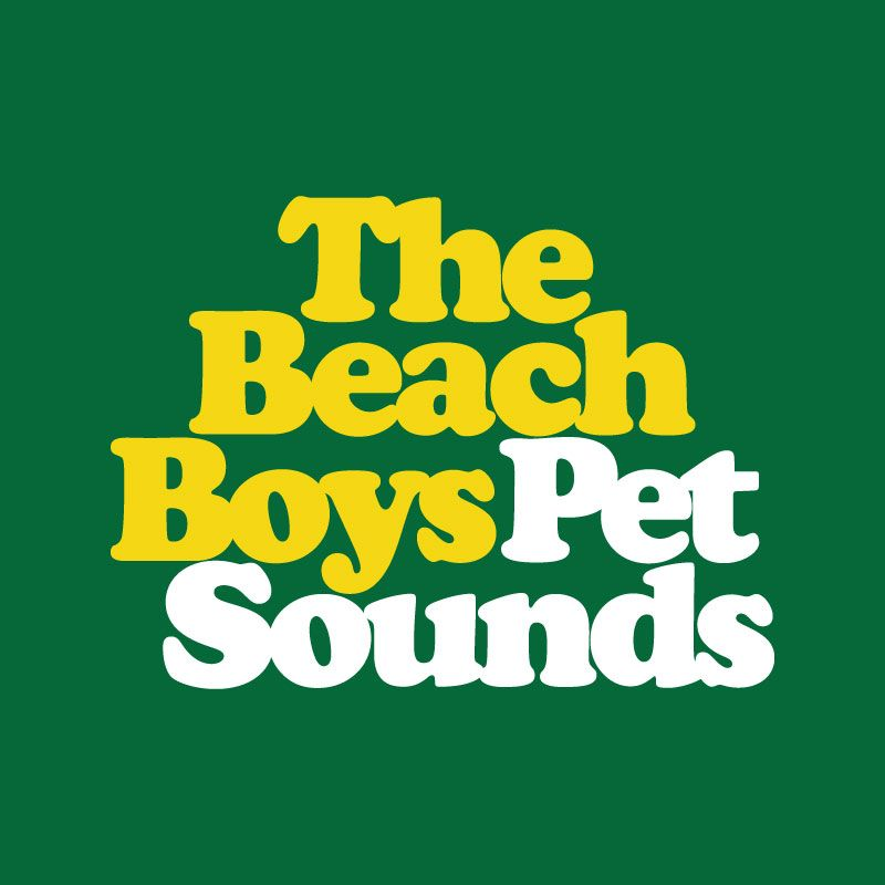 This Is Not Only A Band Logo Its Symbol Of One The Most Revolutionary Albums In History Modern Music From Pet Sounds And Beach Boys