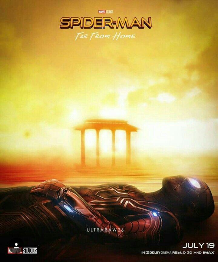 Spiderman far from home fan poster   Marvel   Marvel ...