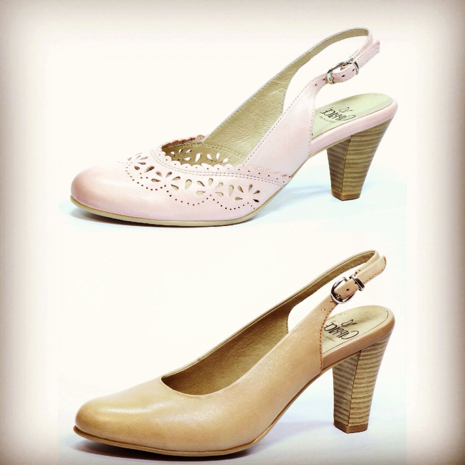 Gorgeous leather sling backs for this summer, all super soft leather! More of the collection on www.fb.com/CapriceFootwear or email capricepr@gmail.com for more info #summer #fashion #heels #pumps #sandals #capriceshoes