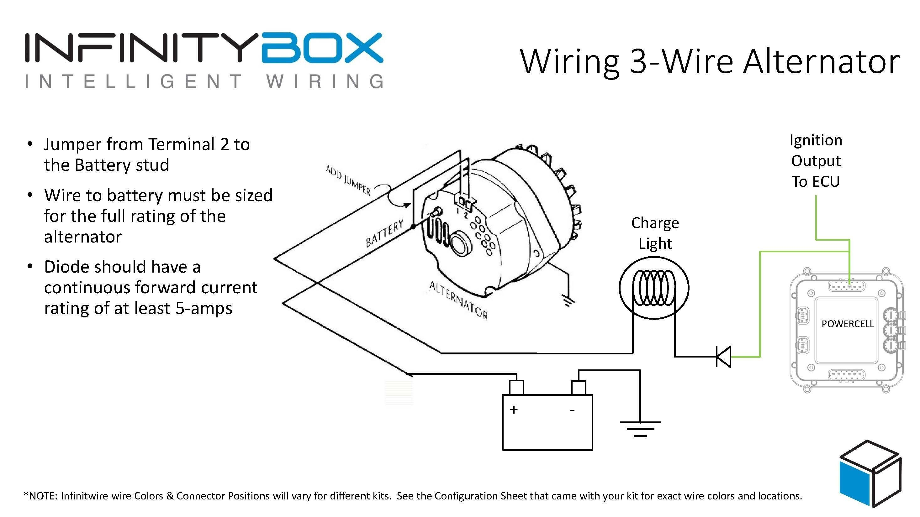 Powermaster Alternator Wiring Diagram In 2020 Car Alternator Alternator Electrical Wiring Diagram