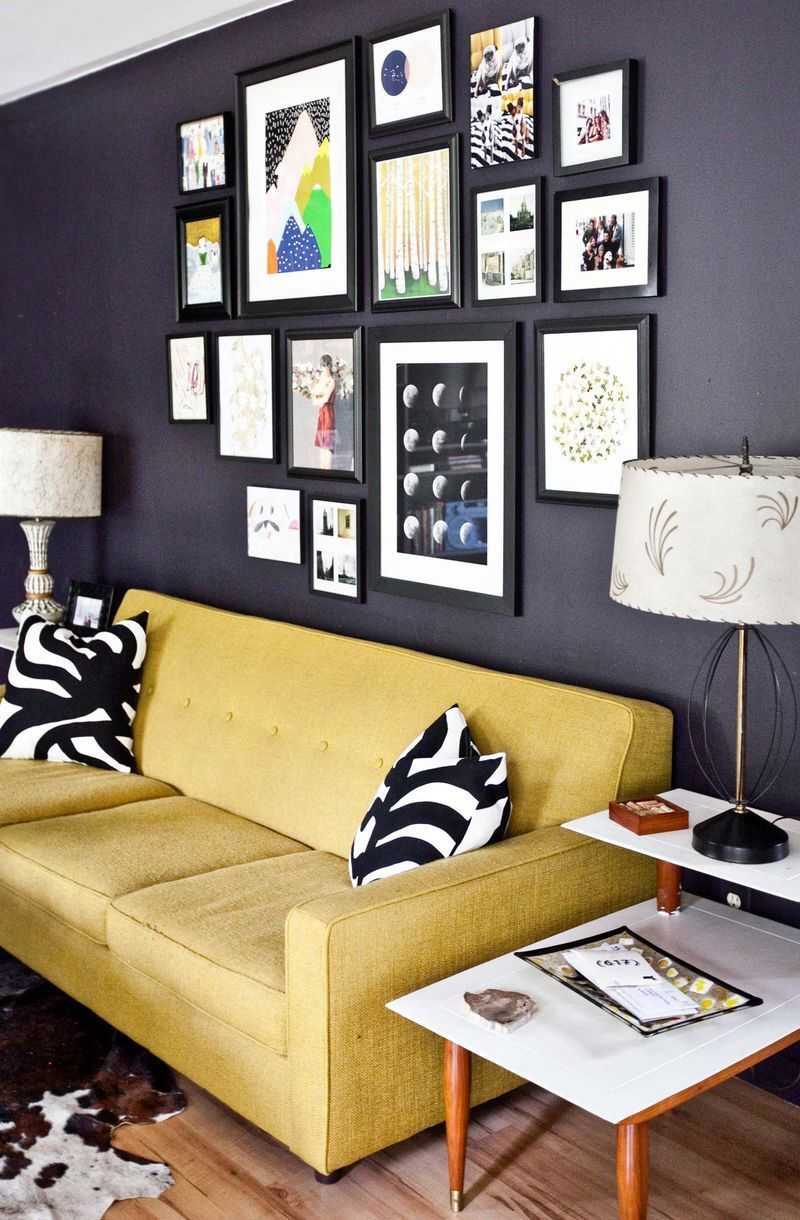 Picture wall idea | Photo walls | Pinterest | Picture walls, Wall ...