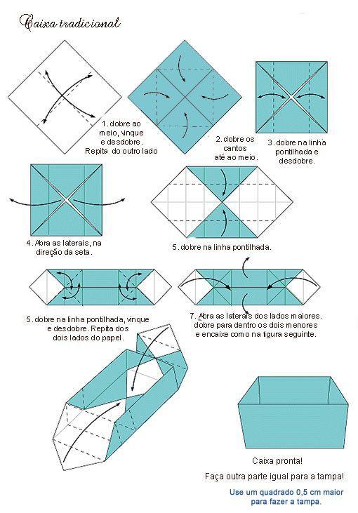 Caixatradicionalg 510731 origami 3 pinterest caixa caixatradicionalg 510731 ccuart Gallery