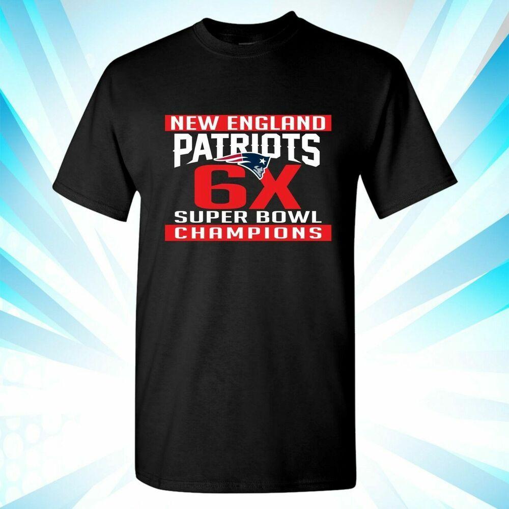 8d1014f5d Super Bowl 53 LIII Champions New England Patriots Navy Blue T-Shirt 2019  NFL 007  fashion  clothing  shoes  accessories  mensclothing  shirts (ebay  link)