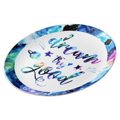 Do Good. Dinner Plate - girl gifts special unique diy gift idea   girl gifts   Pinterest  sc 1 st  Pinterest & Dream. Try. Do Good. Dinner Plate - girl gifts special unique diy ...