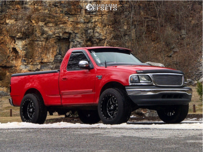 2001 Ford F 150 20x12 44mm Tis 544bm In 2020 Ford F150 Ford