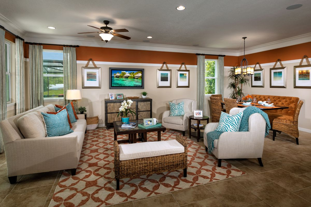Great Rooms Tampa Part - 42: Mirabella, A KB Home Community In Wimauma, FL (Tampa) Plan 2003 Great Room