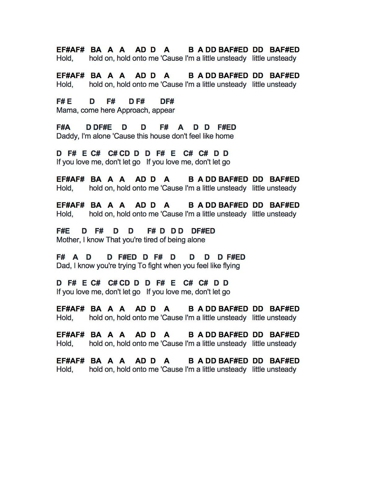 Flute Sheet Music Unsteady Flute Sheet Music Pop Piano Sheet