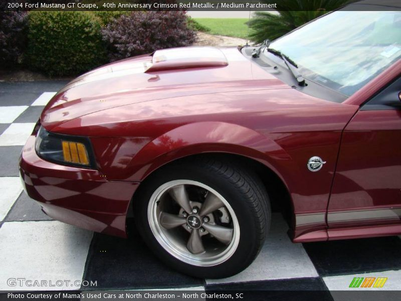 2004 Ford Mustang Gt Coupe In 40th Anniversary Crimson Red Metallic Photo No 13046298 2004 Ford Mustang Mustang Gt Mustang