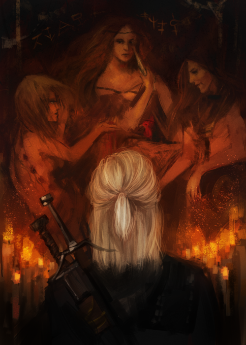 witcher and crones