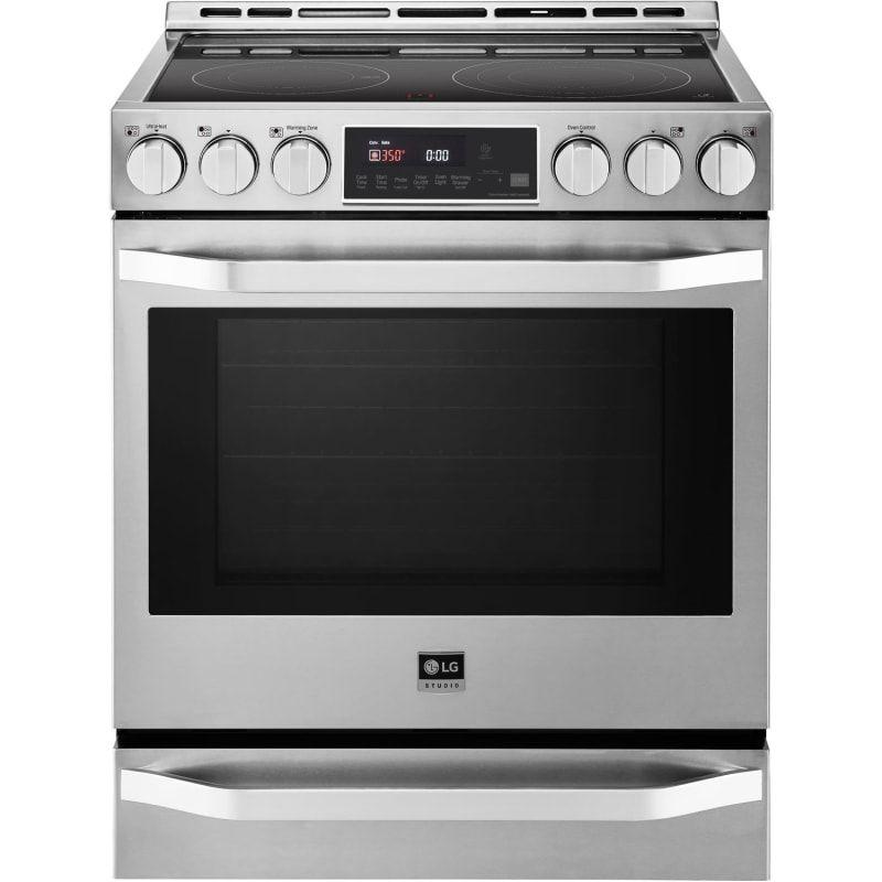 Lg Lsse3027 In 2020 Slide In Range Cleaning Oven Racks Countertop Microwave Oven