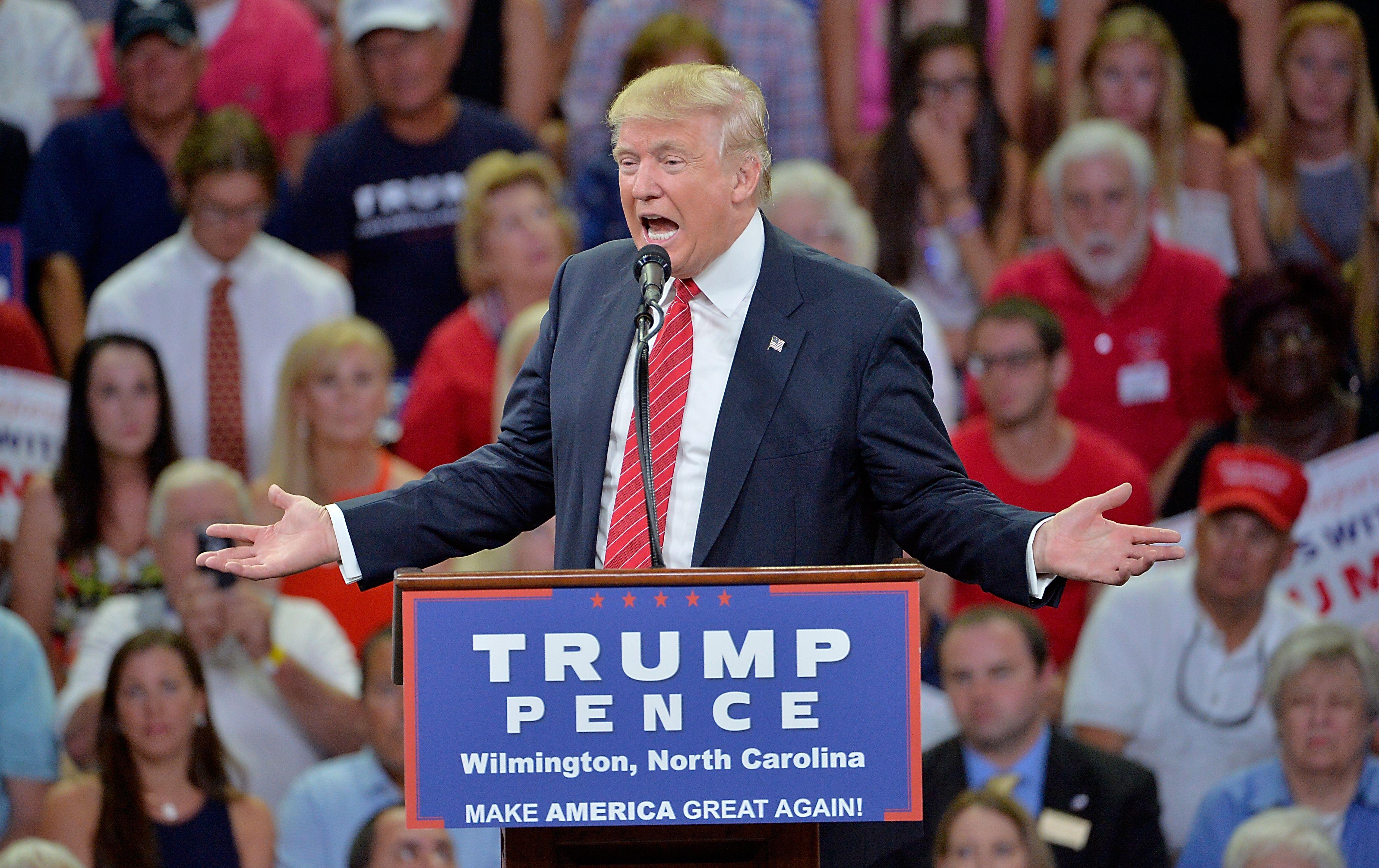 Read the Full Transcript of Donald Trump's 'Second Amendment' Speech