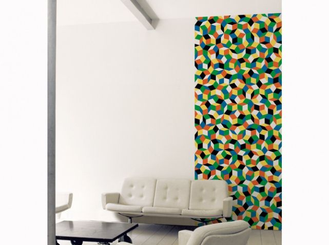 papier peint colore rouge vert papiers peints wallpaper pinterest rouge. Black Bedroom Furniture Sets. Home Design Ideas